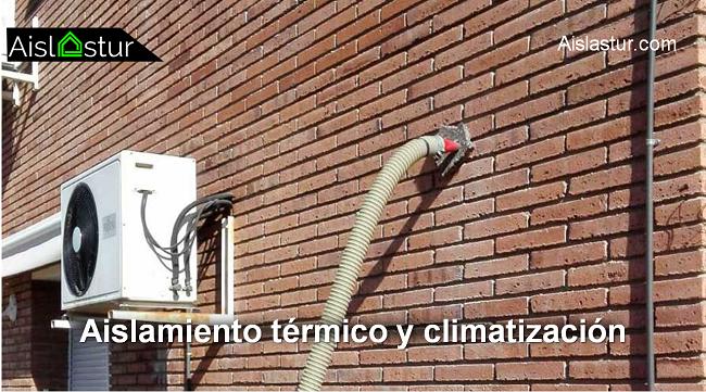relación entre aislamiento térmico y climatización